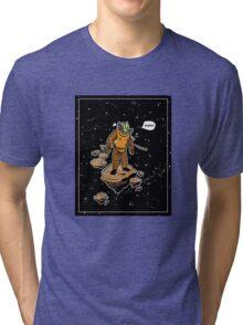 Astrozombie Tri-blend T-Shirt