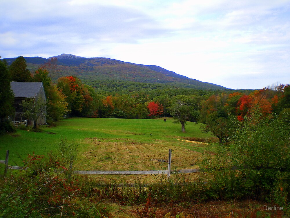 Mt. Monadnock's Beauty by Darline
