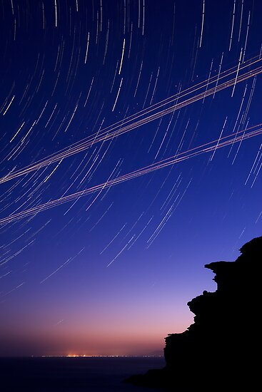 Startrails and Human Journeys by Geoff  Coleman - Landscapes