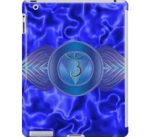 Third Eye Chakra with indigo flare BG iPad Case/Skin