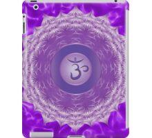 Crown Chakra with violet flare BG iPad Case/Skin