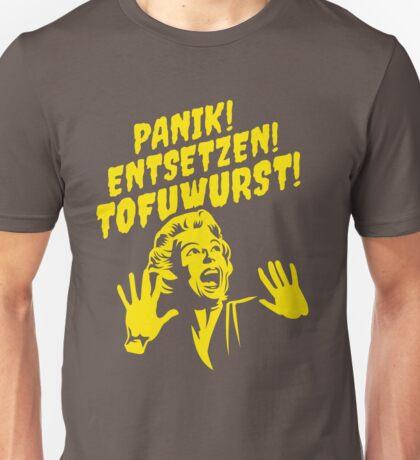 Grillhorror Tofuwurst Unisex T-Shirt
