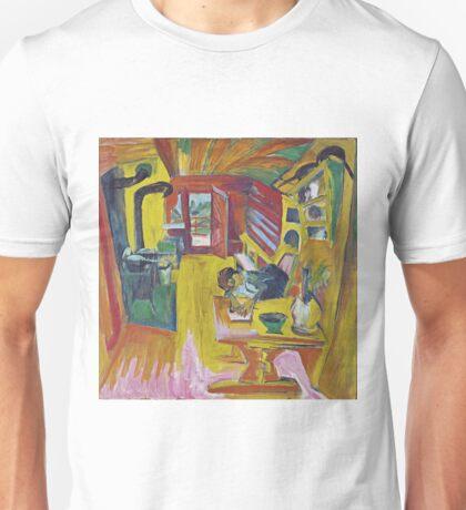 Ernst Ludwig Kirchner - Alpine Kitchen Unisex T-Shirt