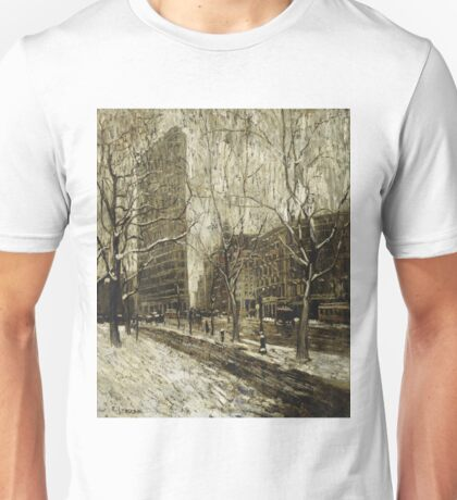 Ernest Lawson - The Flatiron Building, New York Unisex T-Shirt