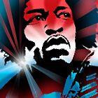 Jimi Hendrix by Cliff Vestergaard