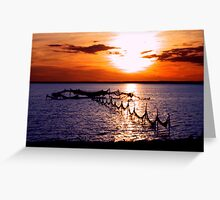 Sag Harbor Weir Greeting Card