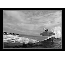 Unknown Surfer Photographic Print