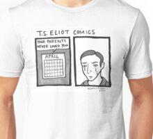T.S. Eliot Comics Unisex T-Shirt