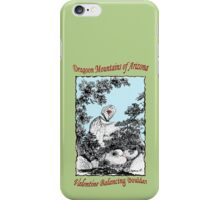 Valentine Balancing Rock in the Arizona Dragoon Mountains iPhone Case/Skin