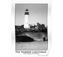Santa Cruz Harbor Lighthouse Poster