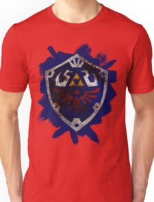 Hylian Shield Brushed Unisex T-Shirt