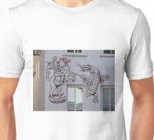 St George and the Dragon, Miltenberg, Germany Unisex T-Shirt