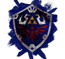 Hylian Shield Brushed by Deadlights