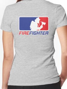Professional Firefighting League Apparel Women's Fitted V-Neck T-Shirt