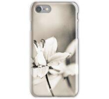 Delicate wild flower iPhone Case/Skin
