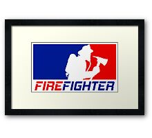 Professional Firefighting League Framed Print