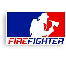 Professional Firefighting League Canvas Print