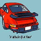 Fortitude's Porsche 911 Carrera ''A Whale Of A Time'' by Twain Forsythe