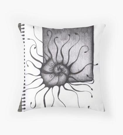 Bored Throw Pillow