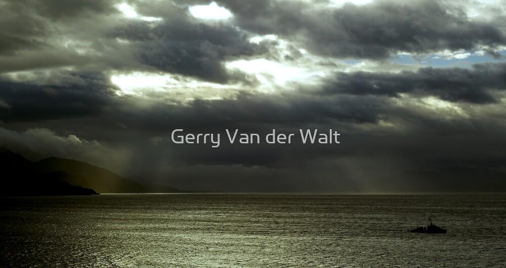 Ship Scene by Gerry Van der Walt