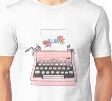 Aloha Typewriter Unisex T-Shirt