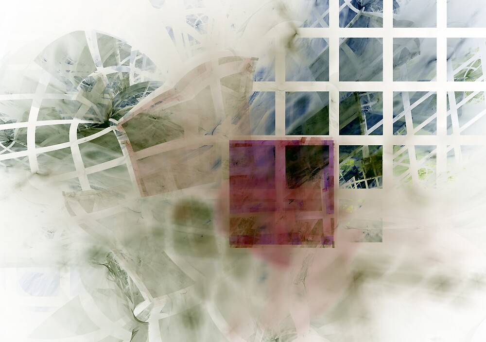 Through the window by Leoni Mullett