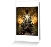 Night Train Greeting Card