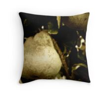 Painted Pears Throw Pillow