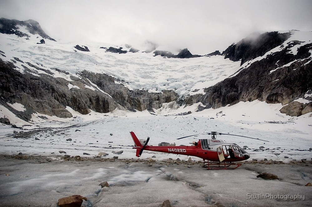 Glacier Landing by SwainPhotography