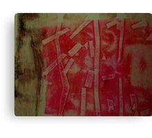 Monotype VII Canvas Print