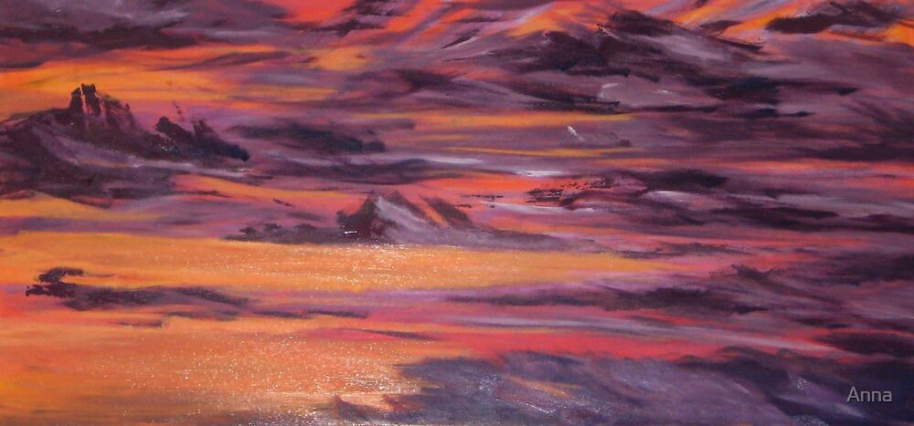 'Purple Bliss' (2007) by Anna