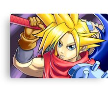 Final Fantasy - Kingdom Hearts - Cloud Strife Canvas Print