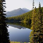 Bear Lake in the Rocky Mountains by Alex Cassels