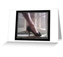 Shoe by Review Greeting Card