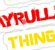 It's a HAYRULLAH thing, you wouldn't understand !! Sticker