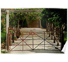 Villa Gate Poster
