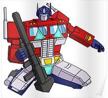 Pinup Optimus Poster