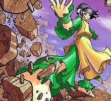 Avatar: The Last Airbender - Toph by 57MEDIA