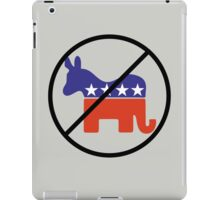 Anti Two Party System iPad Case/Skin