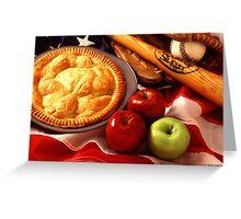 As American as Apple Pie Greeting Card