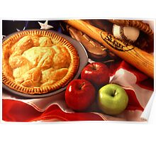 As American as Apple Pie Poster