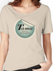 Tama  Sticker Women's Relaxed Fit T-Shirt