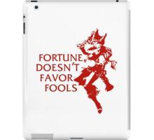 Miss Fortune  iPad Case/Skin