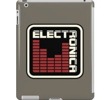 Electronica Red Meter iPad Case/Skin