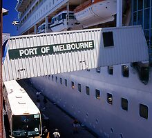 Port of Melbourne by Mark Higgins