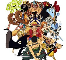 Strawhat Crew by crazyfangirl97