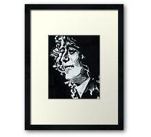 Jimmy Page - Magic Riff Mastermind Framed Print
