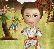 Taekwondo Focus by Kristy Spring-Brown