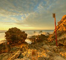 Triggs beach#2 by alistair mcbride