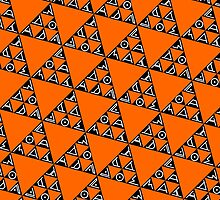 Max Ada Zoe tessellation (Triomino) by black-ink